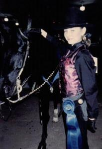 Me and my old horse SG Black Knight.